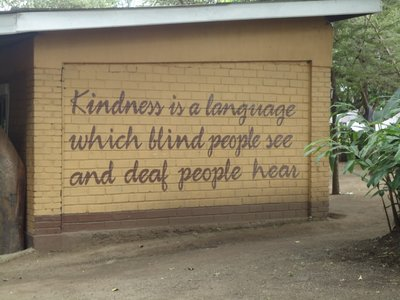 A fantastic quote outside Shanga on the wall as you go in <img class='img' src='http://www.travellerspoint.com/Emoticons/icon_smile.gif' width='15' height='15' alt=':)' title='' />