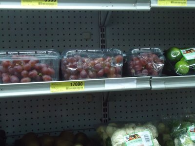 OMG the most expensive grapes EVER!!