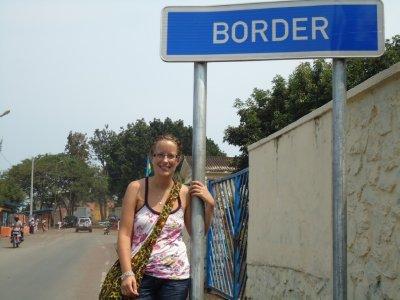 The border to the Congo