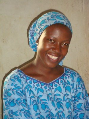 Hadijya a single mum of 23 years old hoping to be an accountant