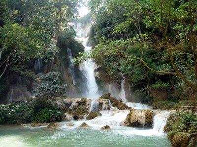 The amazing waterfall