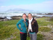 Me and Nicola on Robben Island