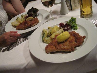 Wiener Schnitzel, Zell am See