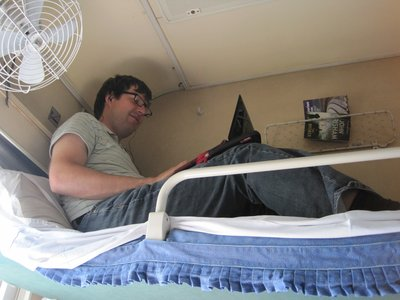 Top Bunk on the Trans-Siberian Express