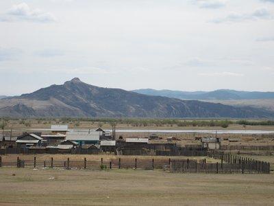 Siberian Landscape near Mongolia