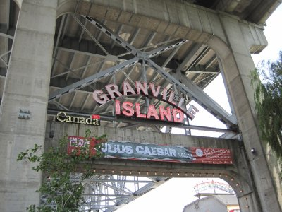 Granville Island Sign, Vancouver, British Columbia
