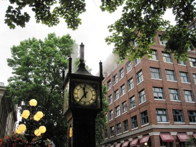 Gastown Steam Clock, Vancouver, British Columbia