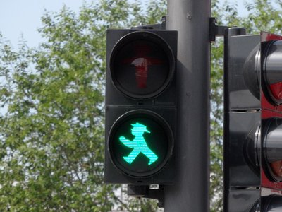 Berlin Green Ampelmännchen
