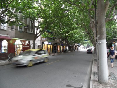 Street in the French Concession, Shanghai