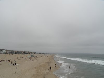 June Gloom in Hermosa Beach, Los Angeles
