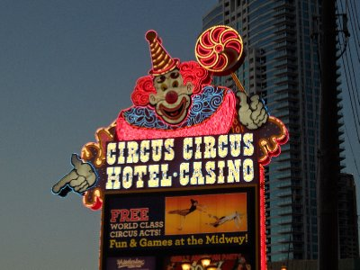Circus Circus Sign, Las Vegas