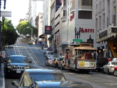 Powell and Mason Cable Car, San Francisco