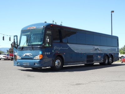 New Greyhound Bus