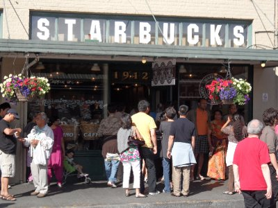 Starbucks, Pike Place, Seattle