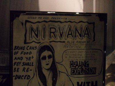Nirvana Gig Poster