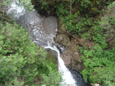 View from Lynn Canyon Suspension Bridge, Vancouver, British Columbia