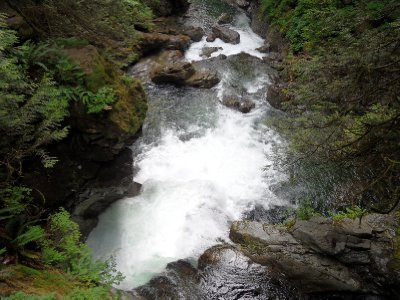 Twin Falls, Lynn Canyon Park, Vancouver, British Columbia