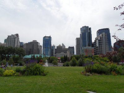 View from Prince&#39;s Island Park, Calgary, Alberta