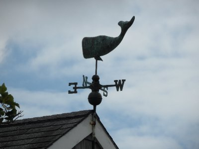 Whale Weather Vane, Nantucket, Massachusetts