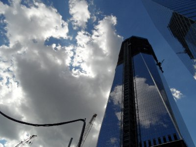 One World Trade Center Under Construction, New York