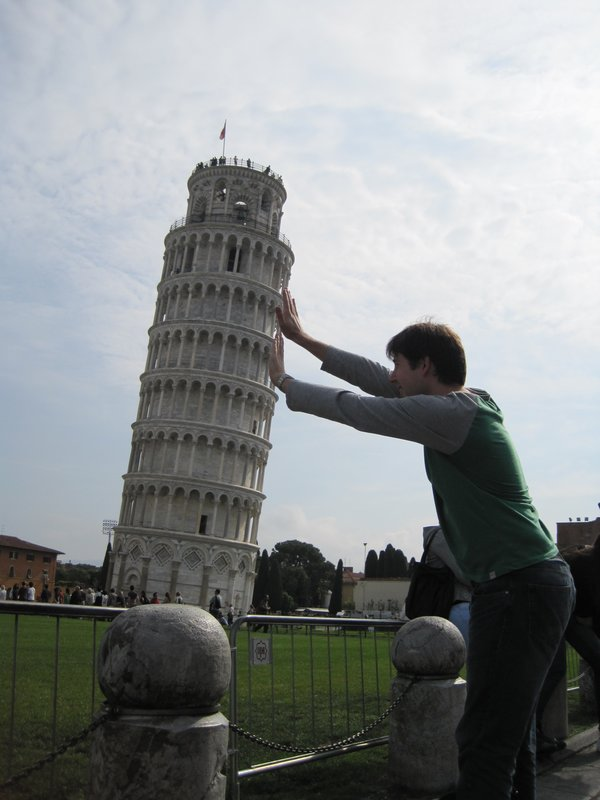 Straightening the Leaning Tower of Pisa