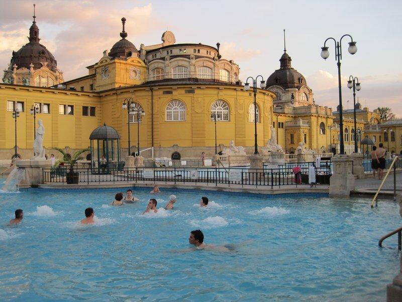 Széchenyi Thermal Spa, Budapest, Hungary
