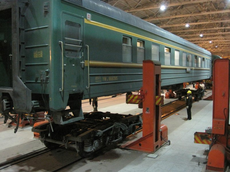 Trans-Siberian Express Carriage on Hydraulics