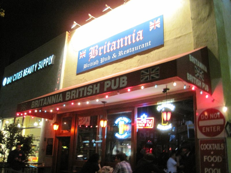 The Britannia Pub, Santa Monica