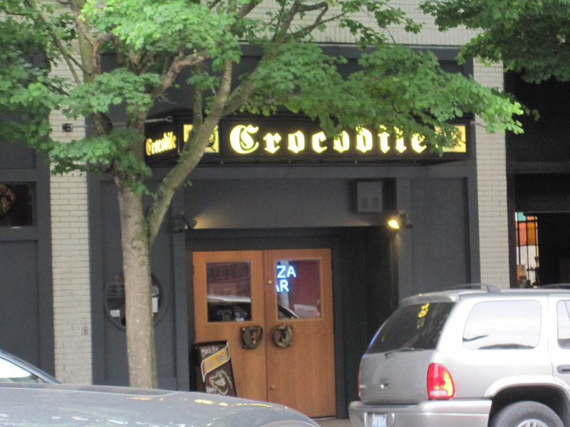 The Crocodile, Seattle