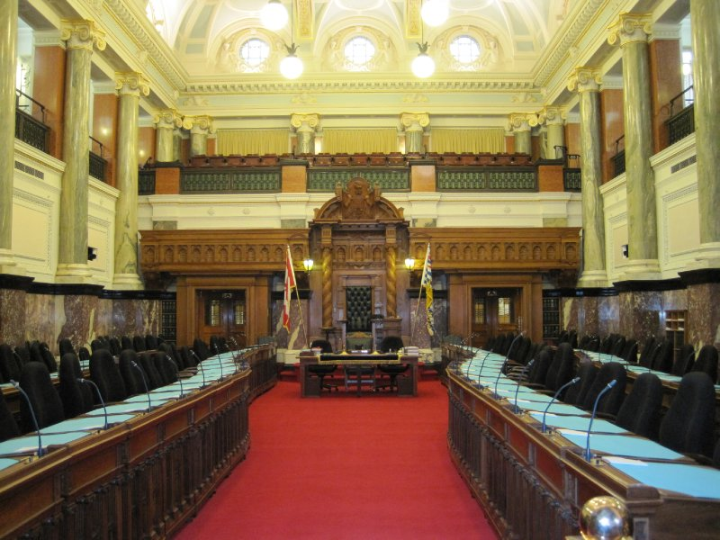 Parliament of British Columbia, Victoria