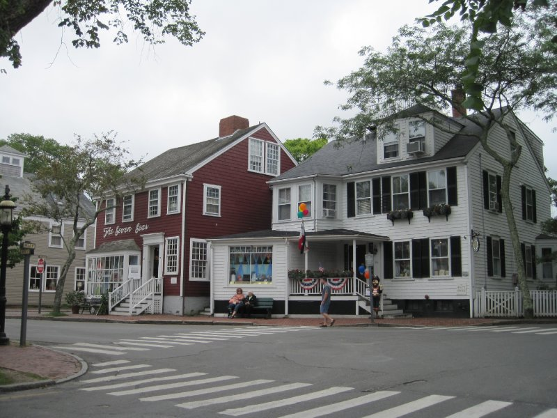 Street in Nantucket, Massachusetts