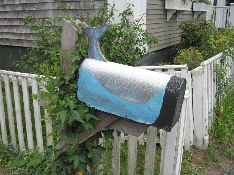 Mailbox in Nantucket, Massachusetts