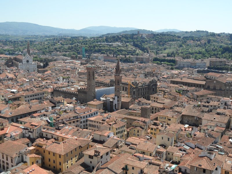 View of Florence from Giotto's Bell Tower