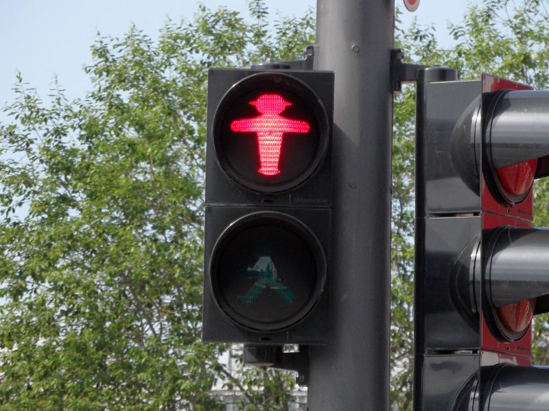Berlin Red Ampelmännchen
