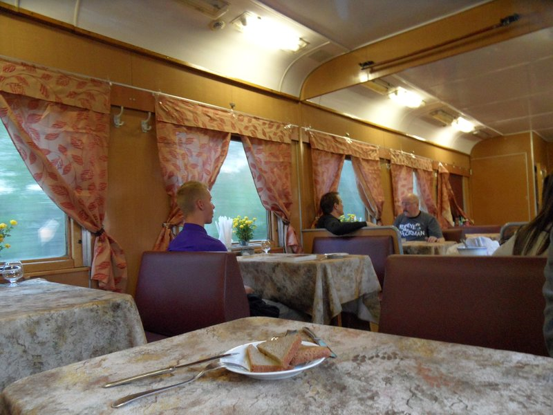 Russian Restaurant Car, Trans-Siberian Express