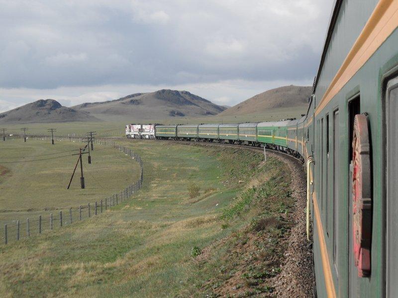 Trans-Siberian Express in Mongolia