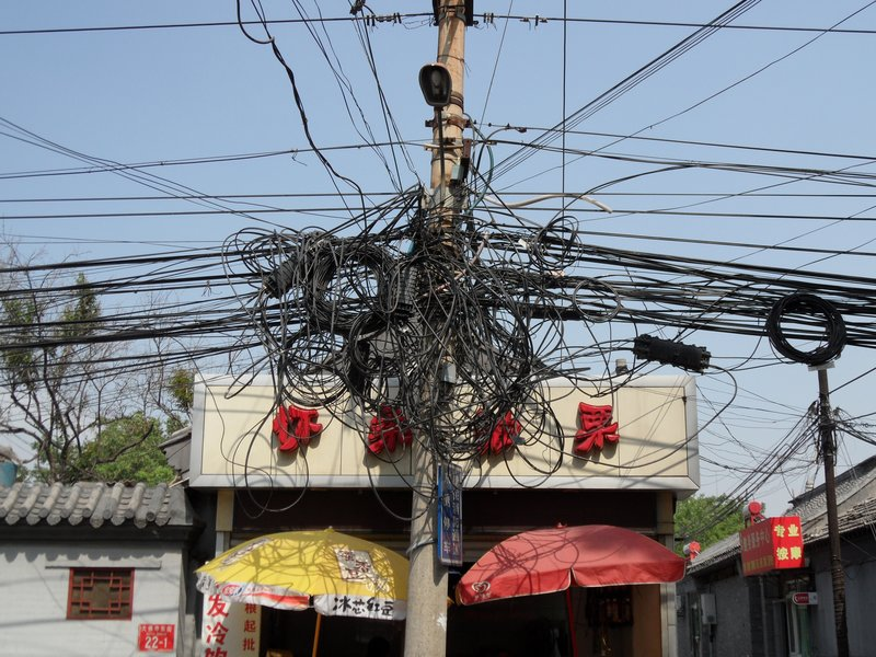 Electrical Cabling, Beijing