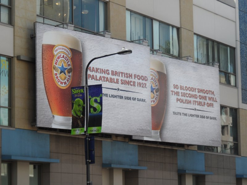 Newcastle Brown Ale Advert