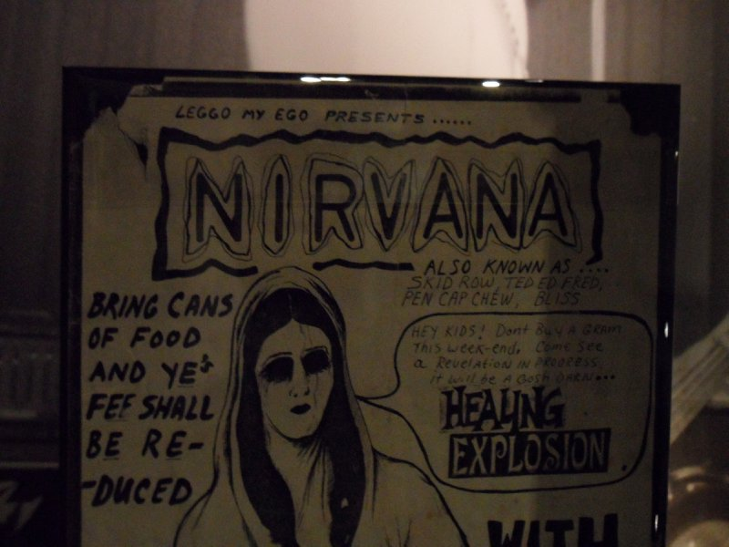 Nirvana Gig Poster