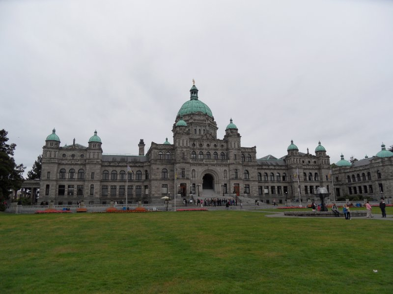Parliament Building, Victoria, British Columbia