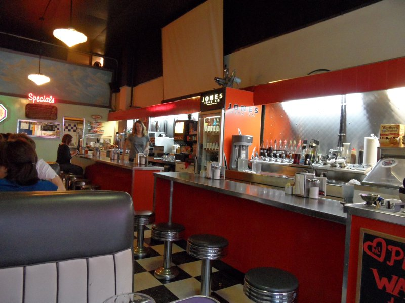 The Templeton Diner, Vancouver, British Columbia