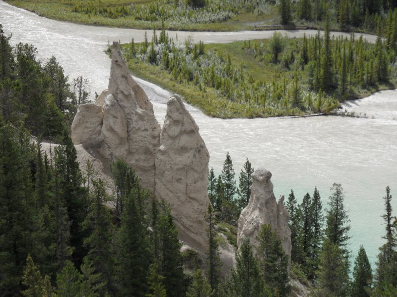 The Hoodoos, Banff National Park, Alberta