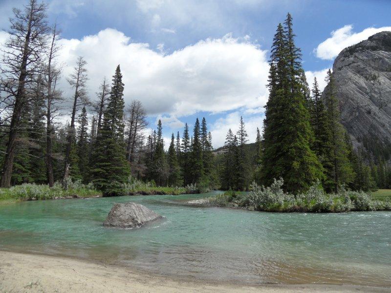 Bow River, Banff Alberta