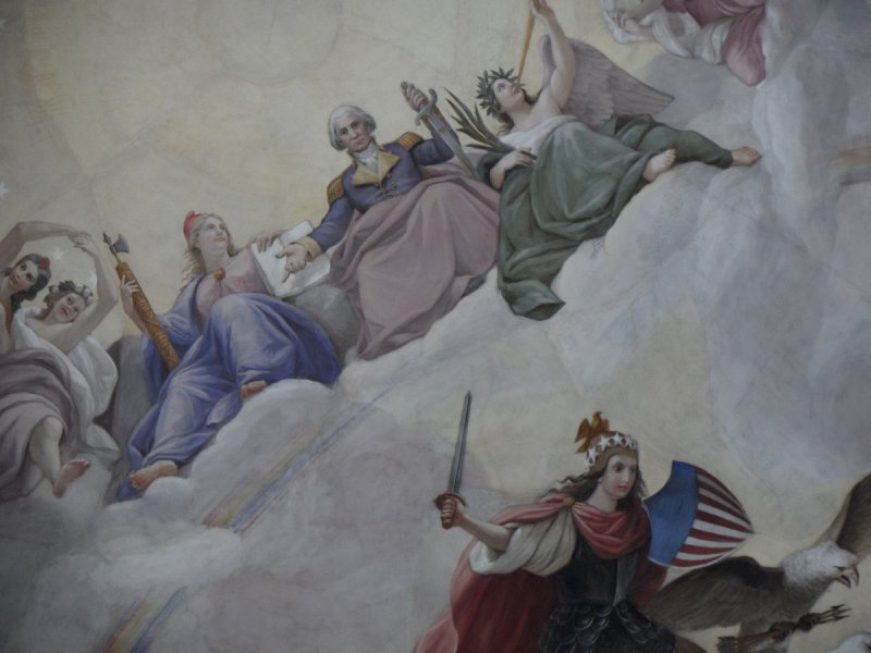 The Apotheosis of Washington, Capitol, Washington, DC