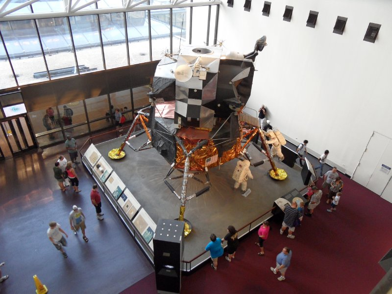 Moon Lander at Smithsonian National Air and Space Museum, Washington, DC