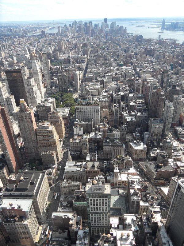View of New York from the Empire State Building