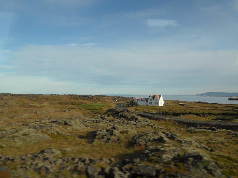 Icelandic Scene near Reykjavik