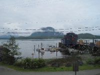 View from Whalers on the Point Hostel, Tofino