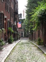 Acorn Street, Boston, Massachusetts