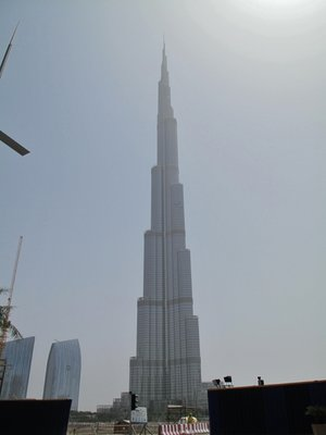 The Burj Khalifa - the Tallest Building in the World